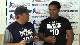 NUC - Junior Berry - Sophomore Offensive Line MVP - 2012 U100 Midwest Football Camp