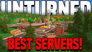 TOP 5 UNTURNED SERνERS TO JOIN 2021!! (You *NEED* to play these!)
