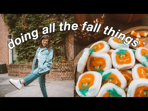 PREPARING FOR FALL! 🍂🍁 shopping for candles, decor, + baking!