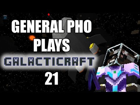 General Pho Plays Minecraft: Galacticraft Episode 21 - Asteroid Mining
