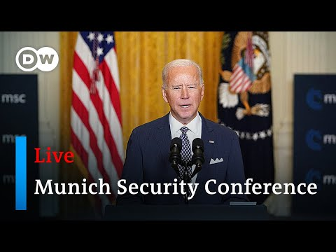 Joe Biden, Angela Merkel and others delivering remarks at the MSC 2021 | Munich Security Conference