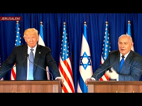 President Trump holds press event with Israeli Prime Minister Netanyahu