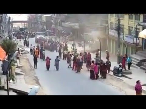 Dangerous EARTHQUAKE 6.4 INDONESIA Caught in camera | 23 Jan 2018 |