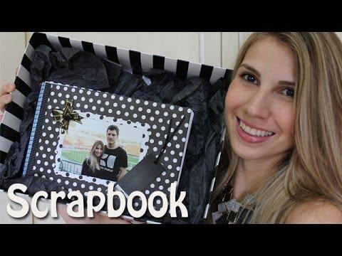 Presente personalizado lbum de fotos scrapbook youtube - Album de fotos personalizado ...