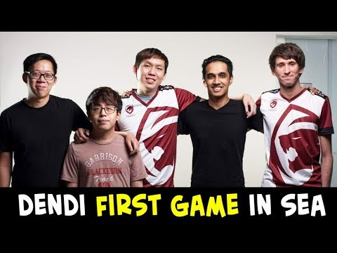 DENDI FIRST GAME in SEA after joining Tigers — SEA SPIRIT