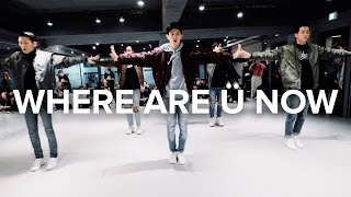 Where Are Ü Now  - Skrillex, Diplo, Justin Bieber / Bongyoung Park Choreography