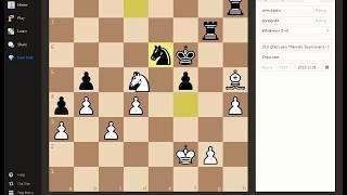 Шахматная тактика.  Найдите мат в 3 хода!
