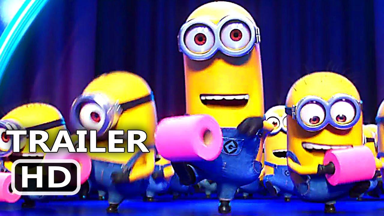 Despicable Me 3 Quot Minions Toilet Paper Dance Quot Trailer 2017