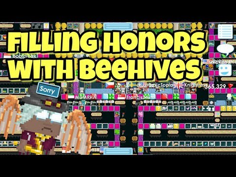 Filling HONORS With Beehives | Growtopia