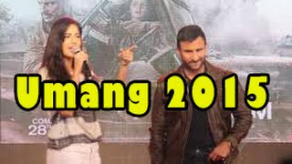 Katrina Kaif & Saif Ali Khan Pramotion For Film Phantom @ Umang Festival 2015 NM College !!!