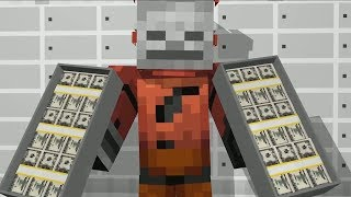 - Minecraft Bank Payday 2 Challenge Minecraft Life Monster School Minecraft Animations