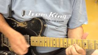 Part Two Relic Telecaster Trem King Install
