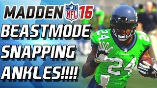 BEST GAUNTLET RUN YET! BEASTMODE SNAPPING ANKLES! - Madden 16 Gauntlet Run!