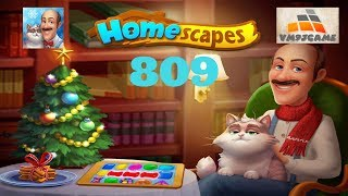 HOMESCAPES Gameplay - Level 809 (iOS, Android)