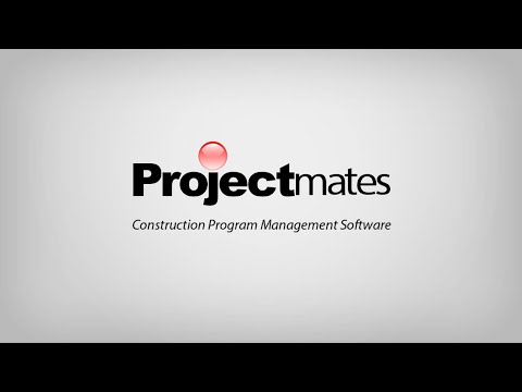 Projectmates The Construction Program Management Software