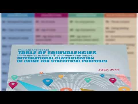 Trinidad and Tobago Table of Equivalencies of Criminal Charges