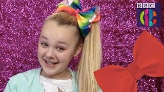 JoJo Siwa and the giant bow craze | CBBC