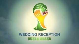 《Football ゲスト紹介なしver》 - 結婚式 オープニングムービー- スタジオロビタ