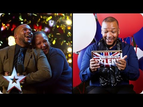 #ActsReact: Lifford Shillingford's GOLDEN BUZZER Moment | Britain's Got Talent