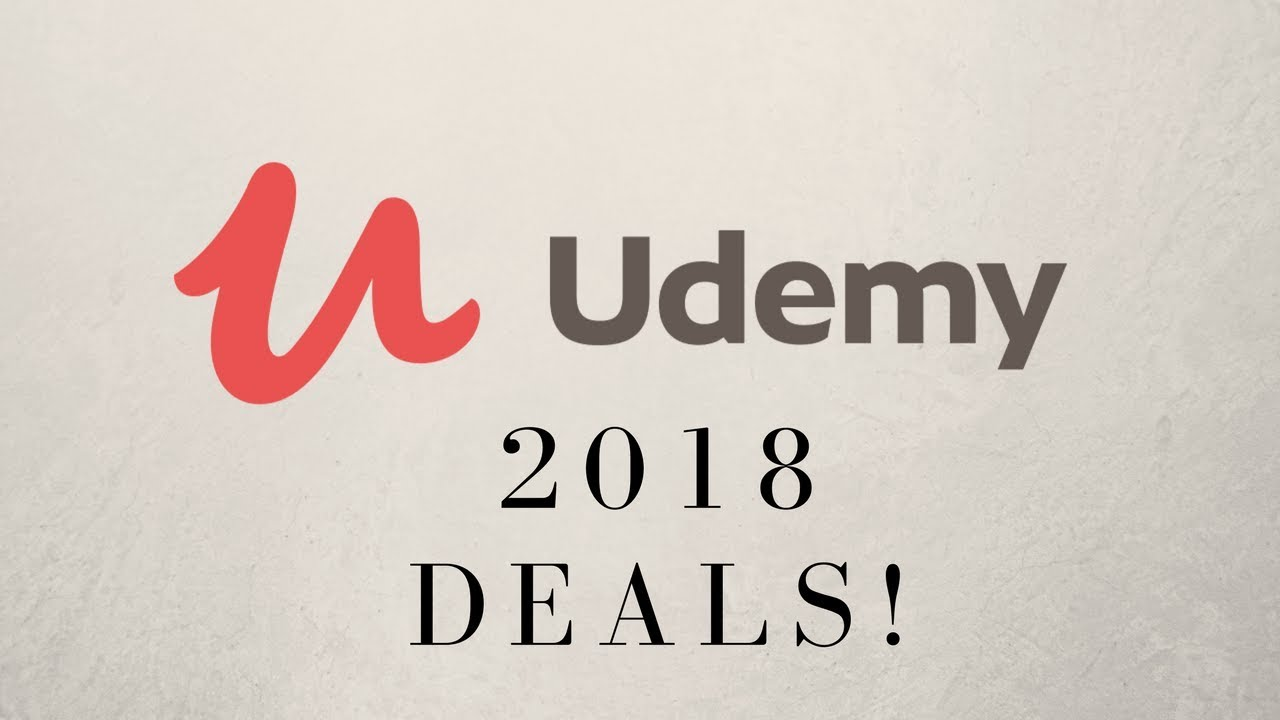 Top Udemy Courses 2018