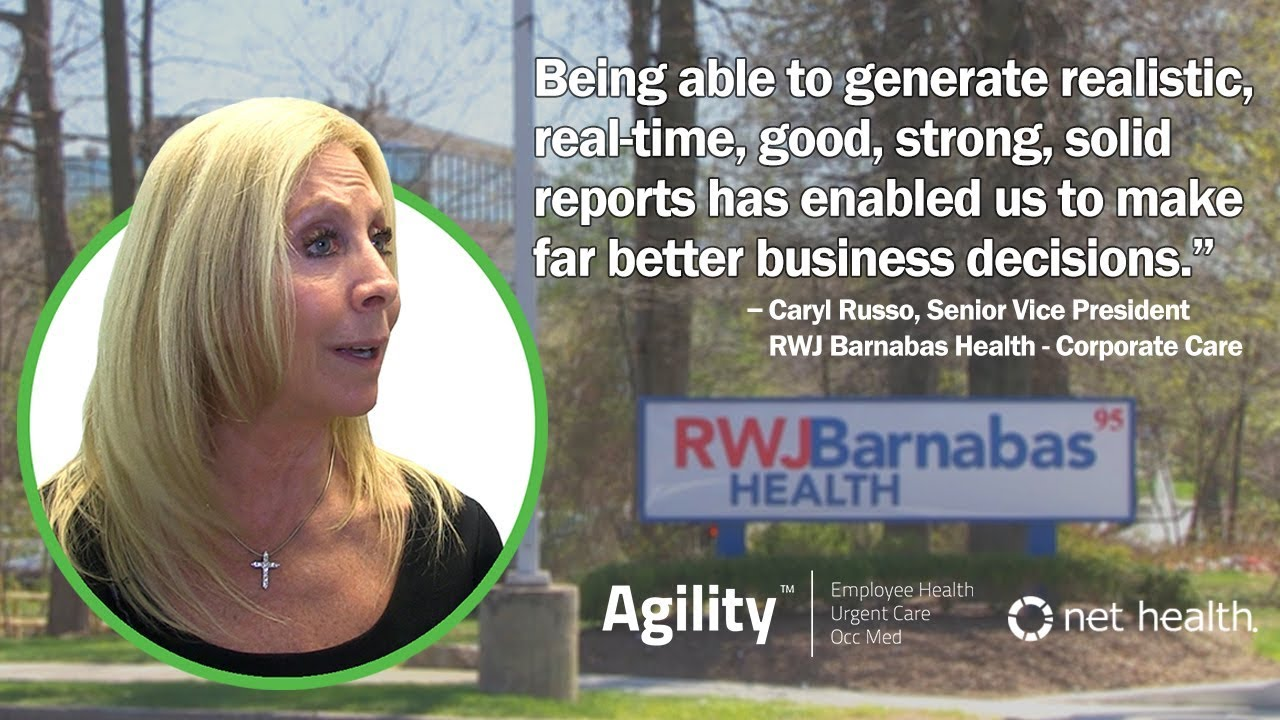 Agility's Powerful Reports for Occupational Medicine and Hospital Employee Health settings