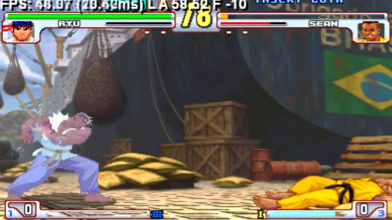 Street Fighter III: 3rd Strike M.S.F Score using Ryu vs Sean (Arcade Mode)