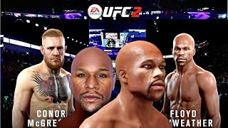 Mayweather vs McGregor: EA UFC 2 Brawl Gameplay I Scanned in Floyd Mayweather Using EA Gameface 2!!!