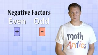 Math Antics - Integer Multiplication & Division