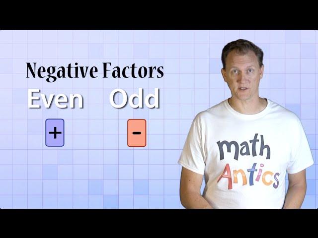 Math Antics - Integer Multiplication & Division
