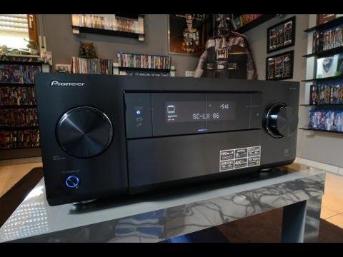 Pioneer SC-LX86-S AV Receiver Windows 7