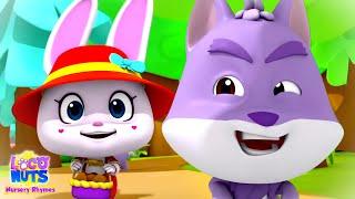 Little Red Riding Hood Story | Kids Cartoon Stories | Nursery Rhymes & Baby Songs | Loco Nuts