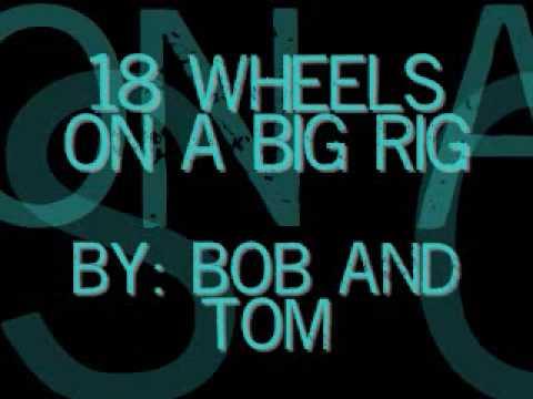 18 wheels on a big rig