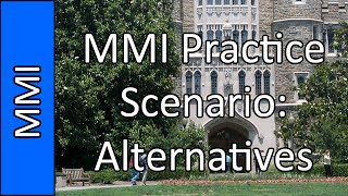 """Alternative Medicine"" - Medical School MMI Interview Practice Question #3 (2015)"