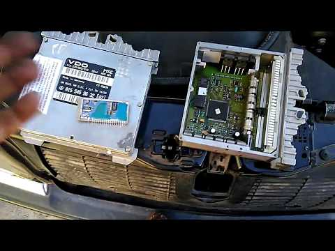 ремонт блока vdo.  C220. w202.022 не заводится.