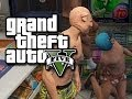 GTA 5 Online Multiplayer Funny Moments!  (Los Santos Tour, New Clothes, and More!)