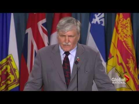 Sen. Romeo Dallaire Resigns