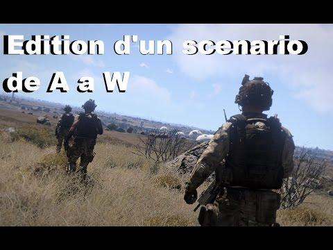 Arma 3 Editeur EDEN - Edition d'un scenario de A a W