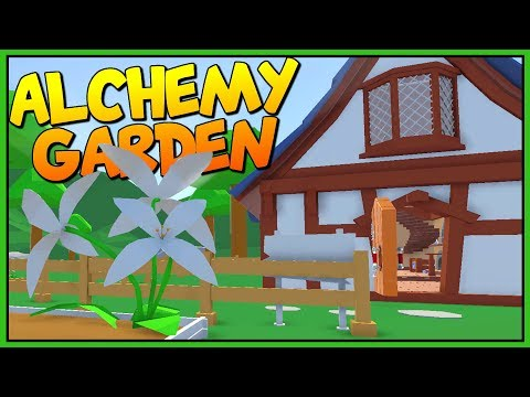 MY LITTLE ALCHEMY SHOP - Making Magic Potions and Growing Herbs - Let's Play Alchemy Garden Gameplay