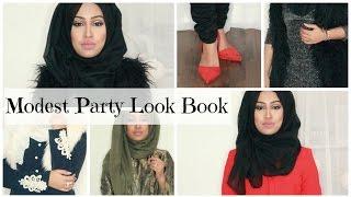 Modest Party Look Book | Sebinaah