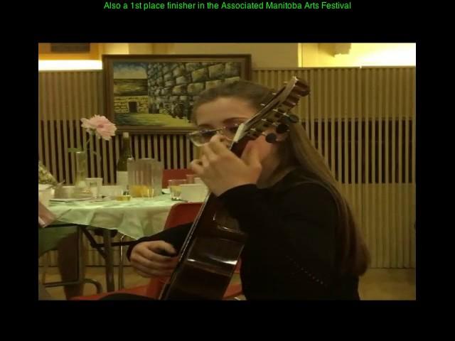 Alyssa Cohen   Classical Guitarist