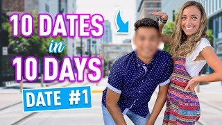 Brooklyn's 10 DATES in 10 DAYS | Meet Jorge (Date #1)