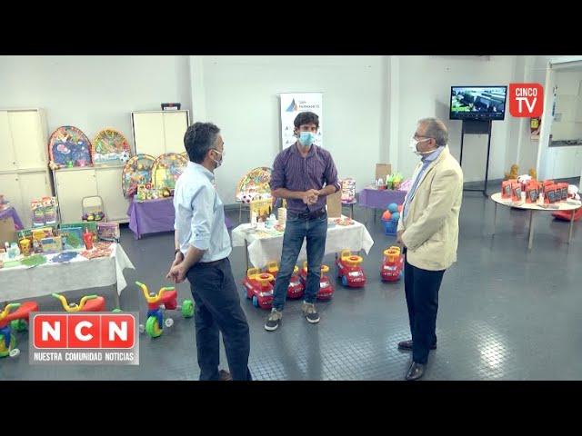 CINCO TV - Juan Andreotti recibió a funcionarios por el Programa 'Abrigarte' y una nueva UDI