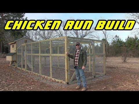 Chicken run build