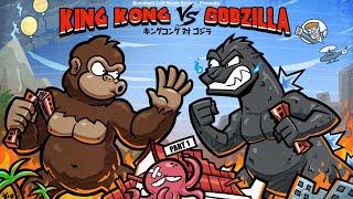 Brandon's Cult Movie Reviews: KING KONG VS. GODZILLA (PART 1)