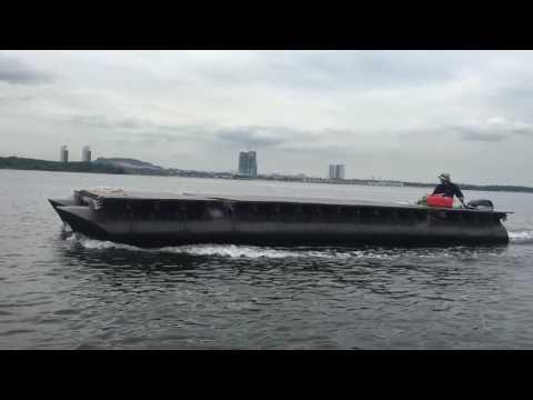 Modular pontoon boat