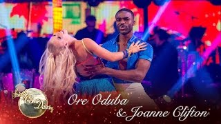 Ore Oduba and Joanne Clifton Salsa to 'Turn The Beat Around' - Strictly 2016: Week 7