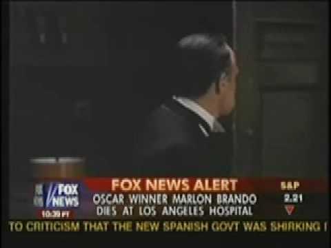 MARLON BRANDO Dead 1924-2004 Breaking News