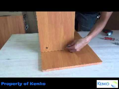 Assembly Instructions for GD 3048 Kenko Pitch Computer Table YouTube