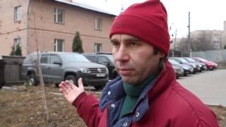 В Красногорске машины занимают простанство частного сектора(, 2015-01-13T17:21:28.000Z)