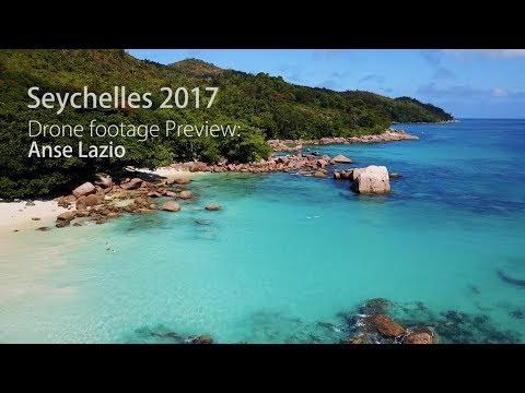 Preview Seychelles 2017 Drone Footage Mavic Pro : Anse Lazio